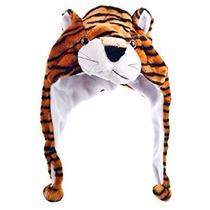 Comprar Touca Gorro Tigre Bichinho Pelúcia Cosplay Adulto Infantil 39590cd29da