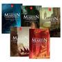 Coleção 5 Livros Crônicas De Gelo E Fogo Game Of Thrones