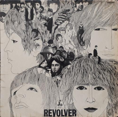 Lp The Beatles Revolver Mono 1966 Sold In Uk Inglês -2/-3 Original