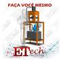 Prensa Hidráulica Cutelaria 30t 50mm/s Projeto