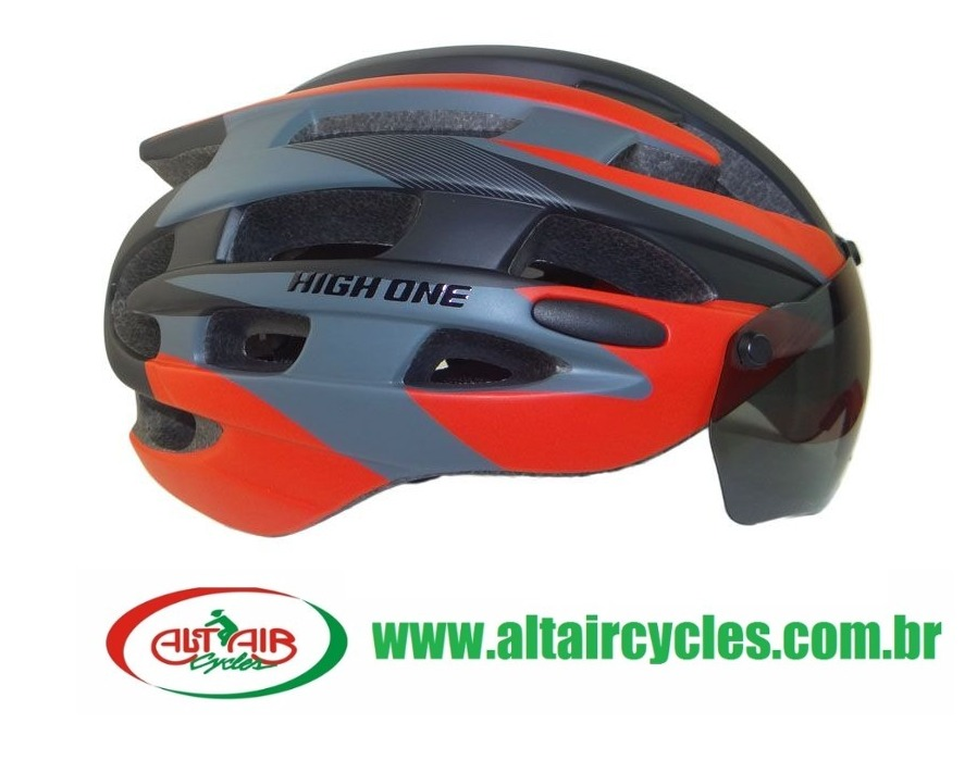 CAPACETE HIGH ONE LM 038 COM VISEIRA TAM G