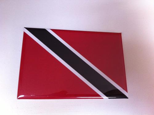Ímã Da Bandeira Da Trinidad E Tobago Original