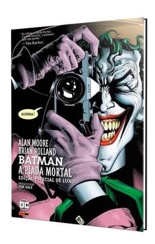 Batman: A Piada Mortal - Capa Dura - Dc Comics Original