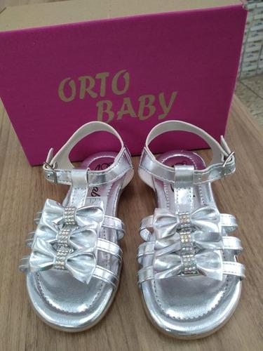 Sandalia Infantil Feminina Ortobaby Original