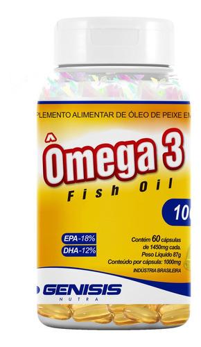 Ômega 3 Premium 60 Caps Sem Odor De Peixe Epa E Dha Promoção Original