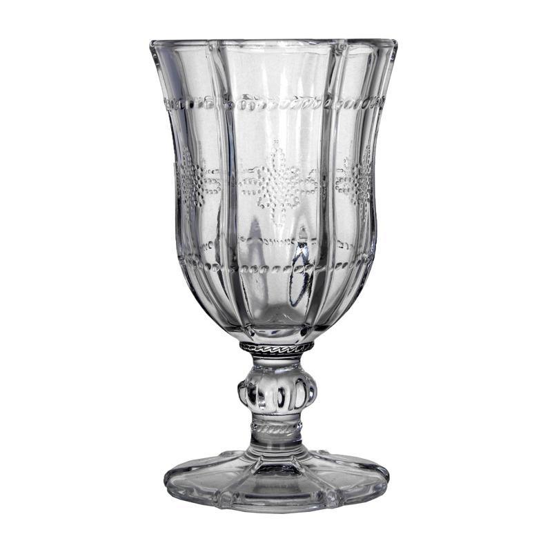 Jogo 6  Taças para Vinho Tinto De Vidro Knot Clear  260Ml - Wolff 31025986