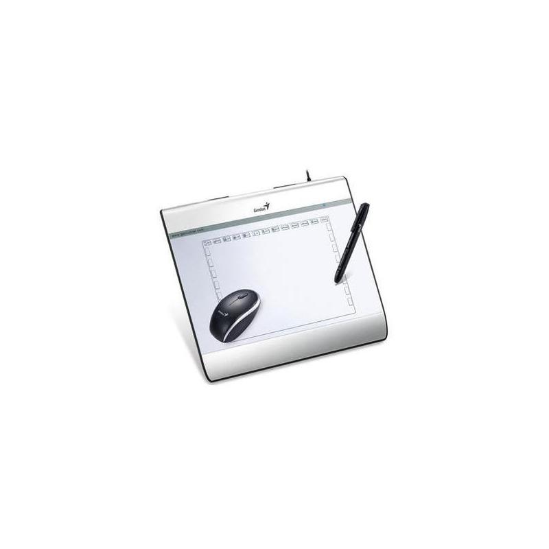 Mesa Digitalizadora Genius 31100029101 Mousepen I608X 8X6 5120 LPI/2048 Niveis + Mouse USB