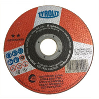 Kit Disco De Corte - 178 X 16 X 222 -A46QBF INOX - Tyrolit