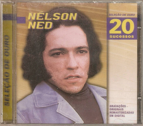 Cd Nélson Ned - Seleção De Ouro / 20 Sucessos Original