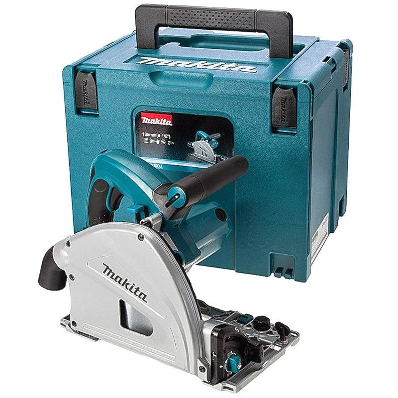 Serra Circular Manual de Trilho 165 mm 1.300 Watts C/ Maleta - SP6000J - Makita - 220 Volts