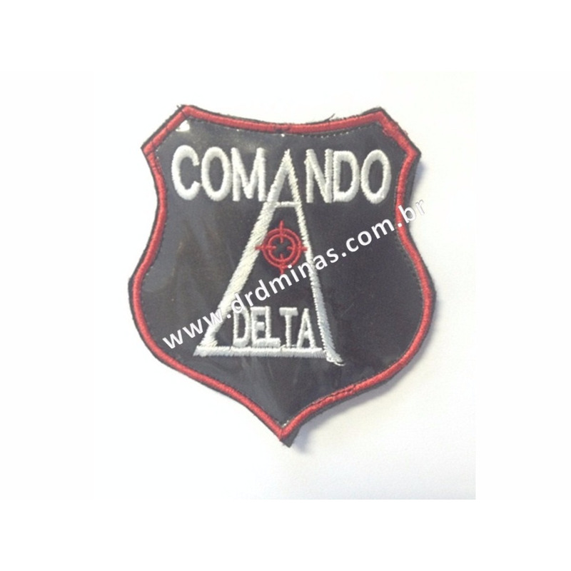 Patch / Distintivo Bordado Comando Delta
