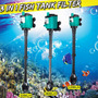 3 Em 1 Aquário Filtro Interno Tanque De Peixe Bomba Submersí