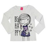 Blusa Be Happy TMX Kids&Teens