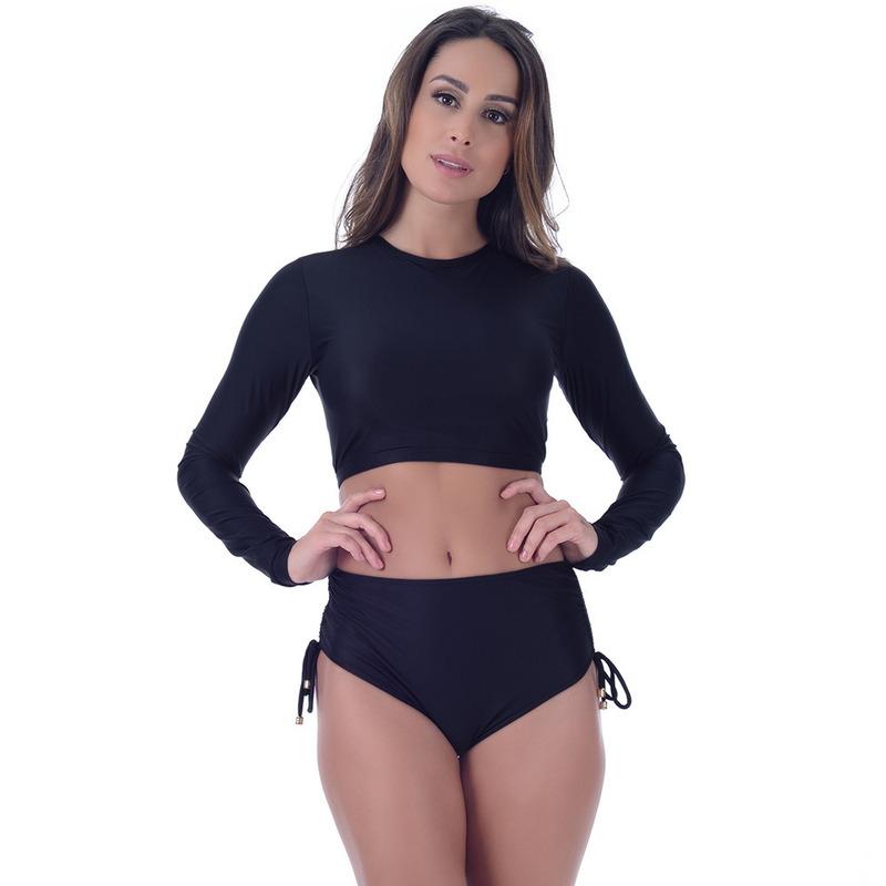 Calcinha Summer Soul Hot Pants Com Amarração Preto Nobre