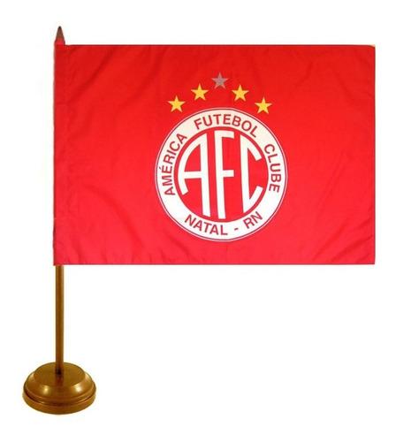 Bandeira De Mesa América F.c - Natal Original