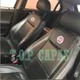 Capa Banco Carro 100% Couro Fiat Palio Fire 2002 A 2017