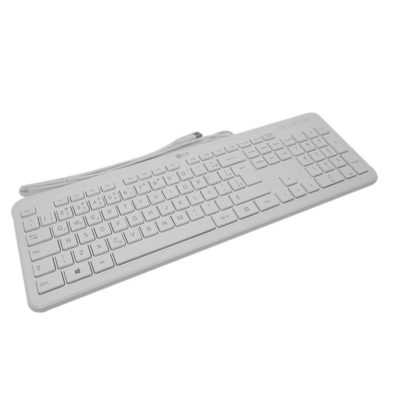 Teclado Branco USB LG  AEW73649803