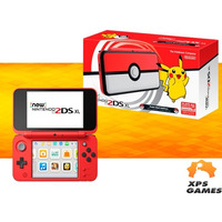 Nintendo New 2ds Xl - Pokeball Edition