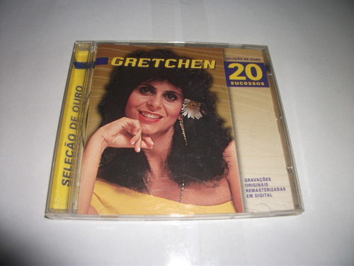Cd - Gretchen Seleção De Ouro Original