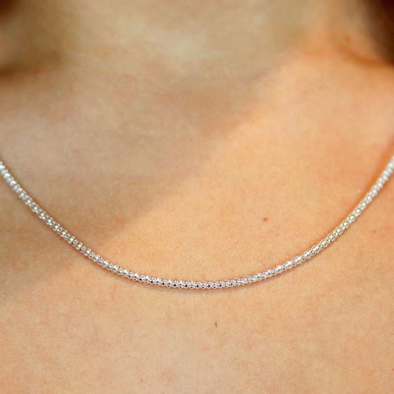 Corrente prata 925 ball - CL020151