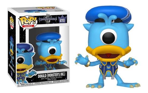 Boneco Funko Pop Pato Donald 410 Disney Mickey Mouse Hearts Original
