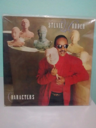 Lp Stevie Wonder - Characters - Lote T Original