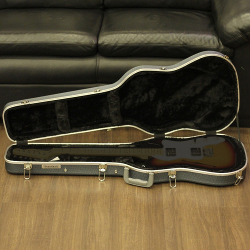 Hard Case Estojo Luxo Standard Para Guitarra Cinza Original