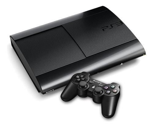 Sony Ps3 Playstation 3 Seminovo Super Slim + 1 Controle Original