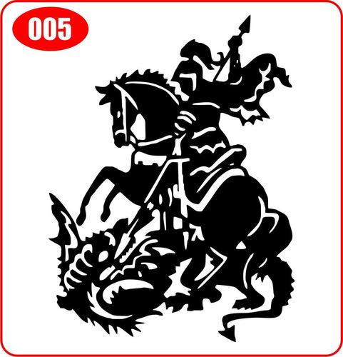 Papel De Parede Adesivo Herois ~ Comprar Adesivo S u00e3o Jorge (5) 24×18 Cm Guerreiro Orixá Frete Fixo Apenas R$ 6,00 Aprender