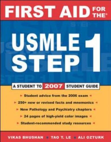 First Aid For The Usmle Step 1 2010 Original