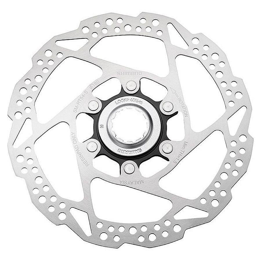 DISCO ROTOR SHIMANO CENTER LOCK SM-RT54160mm INOX