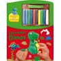 Livro Incríveis Dino Com Massinhas De Modelar