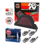 Filtro Ar Esportivo K&n Inbox Yamaha Xj6 Vela Ngk Iridium
