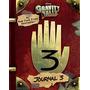 Livro Gravity Falls: Journal 3 Em Estoque Frete Grátis