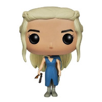Mhysa Daenerys Pop funko #25 - Vestido Azul - Game Of Thrones