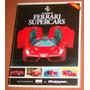 Carros Livro Revista 60 Years Ferrari Supercars ( Inglês )