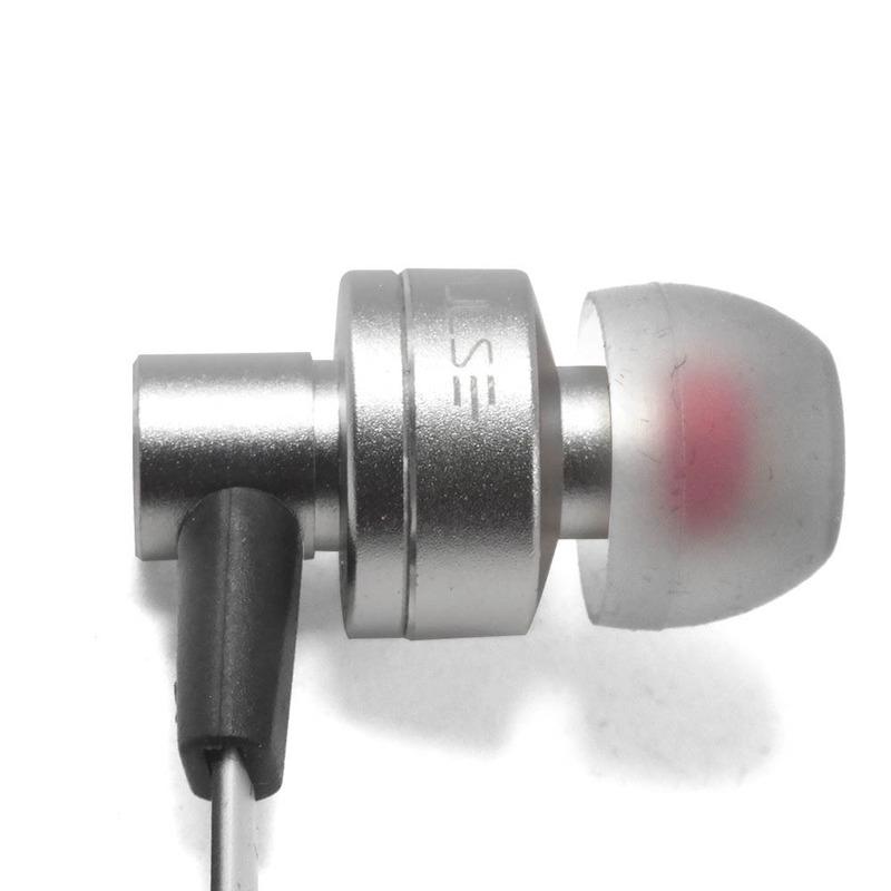 Fone de Ouvido Intra Auricular Pulse Cinza e Preto Multilaser - PH156