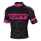 Camisa Ciclismo Mtb Ert Elite Team Rosa