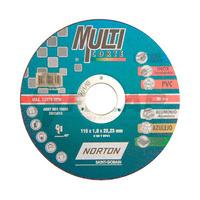 Disco de Corte Multicorte Norton 115 x 1,0 x 22,23