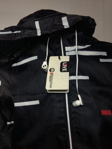 ... comprar Blusa De Frio Lacoste Jaqueta Corta Vento Com Fone De Ouvido . 9c7cdf988b