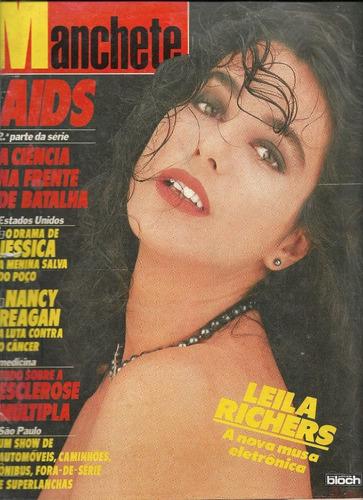 Manchete N. 1.854 - Outubro 1987 - Bloch Original