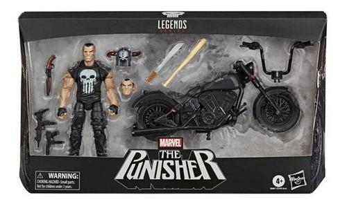 Marvel Legends Punisher (o Justiceiro) E Moto - Hasbro E7455 Original