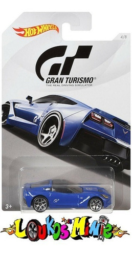Hot Wheels Corvette Stingray Gran Turismo 2018 Lacrado 1:64 Original
