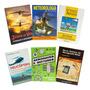 Kit Livros Para Piloto Privado Helicóptero C/ Simul De Prova
