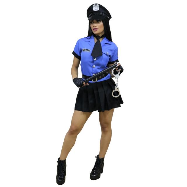 f71d58018b Fantasia Feminina Policial Luxuosa Completa em Conselheiro Lafaiete ...