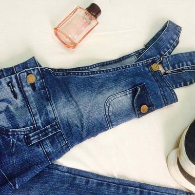 Macac o jardineira masculina jeans 36 38 europeu new 2017 for Jardineira masculina c a