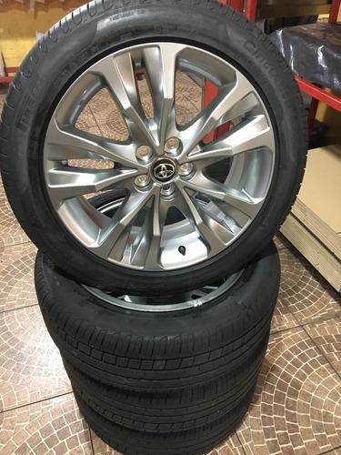 Jogo De Rodas Corolla Xei 2018 Original  + Pneus Pirelli