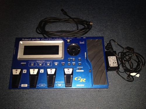 Pedaleira Sintetizador Guitarra Roland Gr55 C/ Captador Gk-3 Original