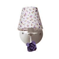 Arandela 1 Lampada Flor Lilas