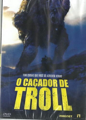 Dvd O Caçador De Troll - André Øvredal - Lacrado De Fábrica